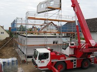 neubau eines Eigenheimes